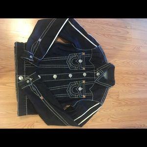 True Religion jean jacket !!!